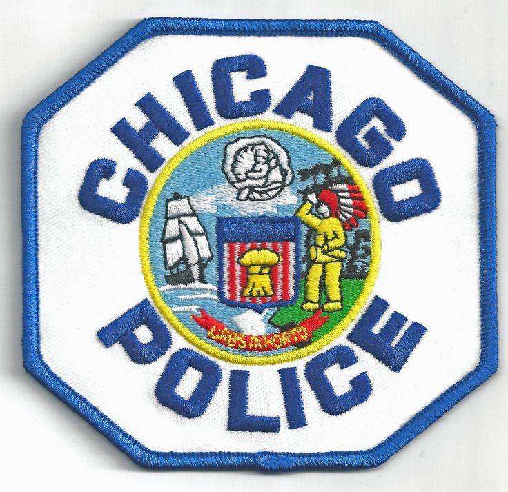 CHICAGO POLICE DEPARTMENT - IRON ON PATCH | Collectibles, Historical Memorabilia, Police | eBay!