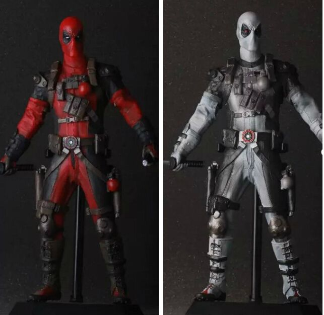 32.75$  Buy now - http://ali115.shopchina.info/go.php?t=32699459493 - Deadpool Action Figures Toy Movable Anime Game Toys 12'Inch Figurines For Kid Children Action Figures Deadpool Red/Silver  #magazineonlinebeautiful