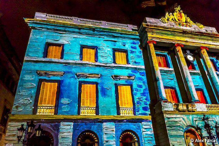 Barcelona, multimedia show, Santa Eulalia