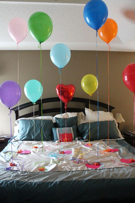 17 best ideas about balloon door surprise on pinterest - Que hacer para un cumpleanos sorpresa ...