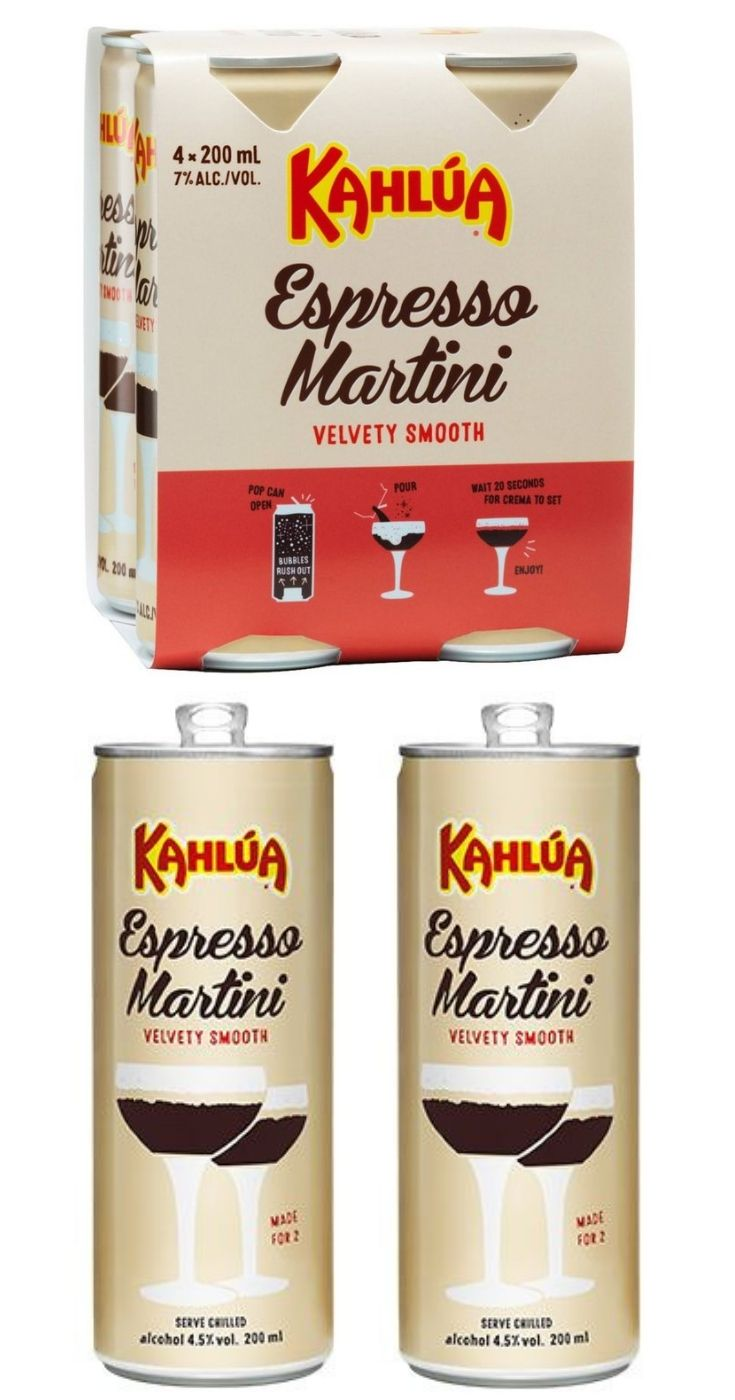 Australian Coupons Bargains Espresso Martini Coffee With Alcohol Kahlua