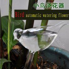La Maison de mode Décor Oiseaux Forme Jardin Usine De Verre Pots Verre Pot De Fleurs Jardin Intérieur Automatique Pots D'arrosage En Pot Vente Chaude(China (Mainland))