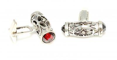 Kol düğmesi #cuuf #link #cufflink #gümüş #koldüğmesi #kırmızı #erkek #aksesuar #mens
