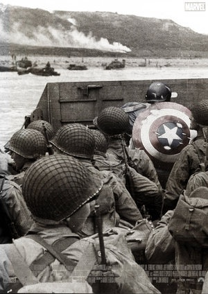 The Captain America poster that never was. (Fan made.)