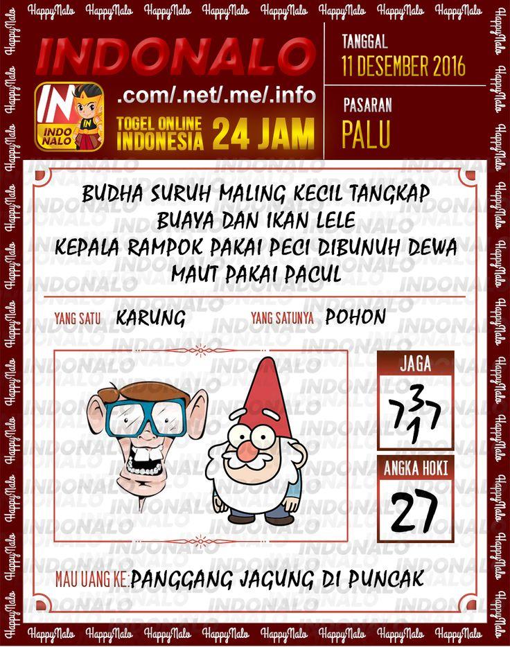 Lotre Kop 4D Togel Wap Online Live Draw 4D Indonalo Palu 11 Desember 2016