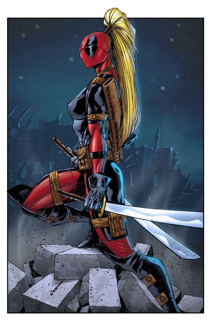Lady Deadpool by FMCuonzo