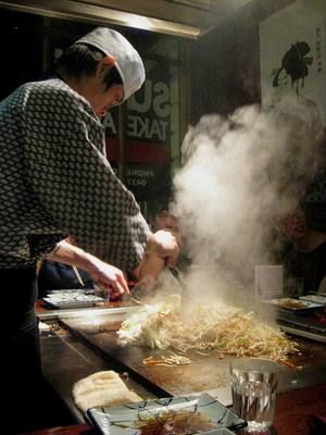 Watch your food being cooked on a teppanyaki pan at Tokyo Grill House.