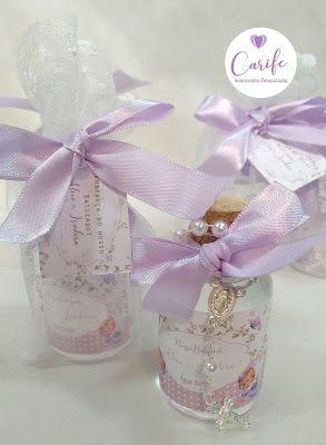 34c6a4a819e63 Carife Lembrancinhas, brindes e kits criativos e originais, feitos com  exclusividade e amor  Lembrancinhas Batizado Gemeas - Água Benta