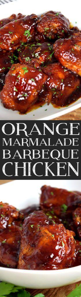 Orange Marmalade Barbeque Chicken