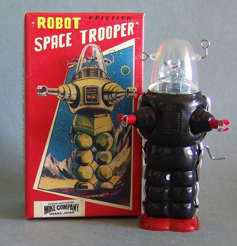 Limited Edition Space Trooper Robot #mike-company #robby #robot