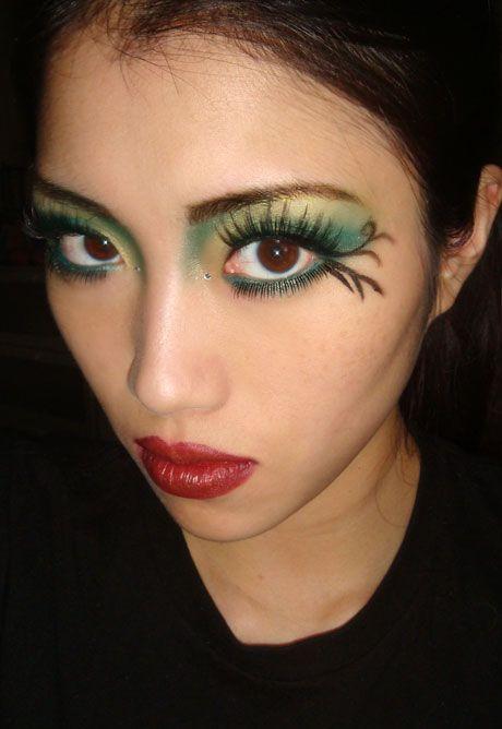 cool eye makeup for halloween fairy gothdark fairy eye makeup eye makeup for halloween fairy ideas 2012 i found a fascinating idea f - Fairy Halloween Makeup Ideas