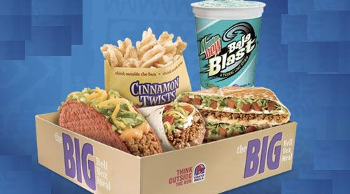 taco bell box meals - Google Search