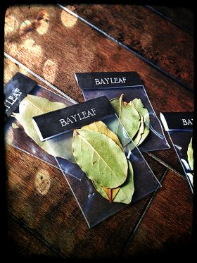 Witches Herbs Bay Leaf: Write a wish on a bay leaf and burn for the spirits to hear your call or to induce prophetic visions. Used for protection, curse reversal, and jinx killing, especially if you are doing a job on someone else.
