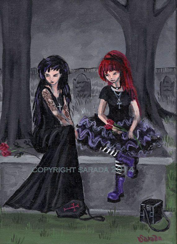 gothic graveyard girls naked