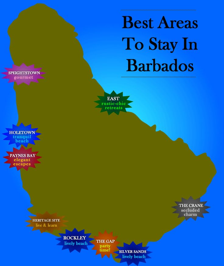 We love the diversity of accommodation & vacation experiences Barbados offers. Here are our top picks of areas - and hotels - to stay.. whether you're looking for a peaceful escape, active holiday, or gourmet getaway!