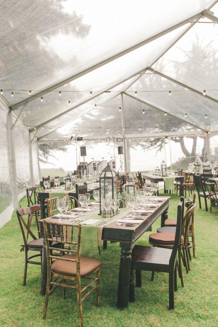 Amazing Big Sur Destination Wedding from Carlie Statsky - wedding reception idea