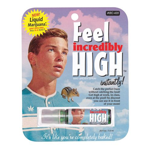 "Spray de Gura ""Feel Incredibly High"""