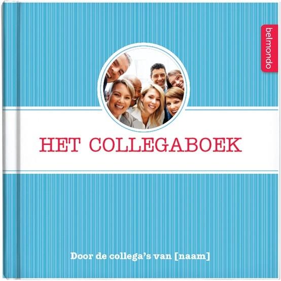 Verras jullie collega. Samen met andere collega's maak je een origineel en persoonlijk boek voor je collega. Met vragen over jezelf, je collega en jullie samen, leg je alle mooie momenten en herinneringen vast. Al vanaf €12,50 op http://www.belmondo.nl/collegaboek.html