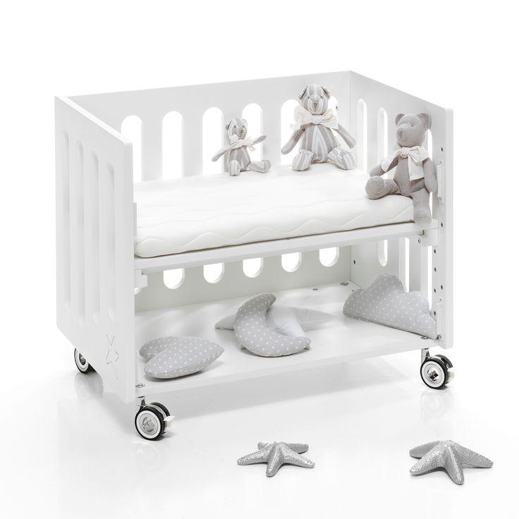 Design subtil, décoration enfantine, pureté et modernité, Le Trésor de bébé propose le berceau cododo le plus contemporain sur le marché Français.