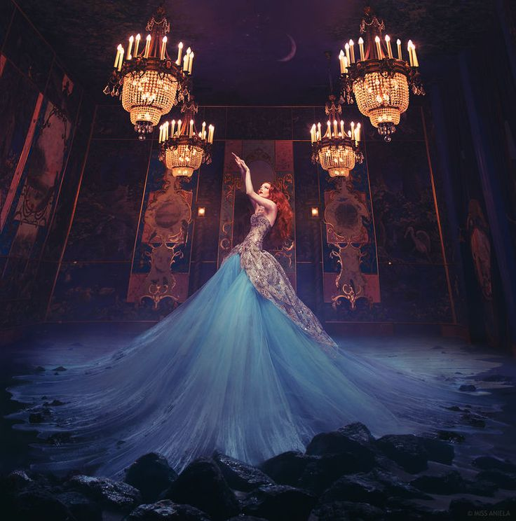 """I love the creativity and lighting of this piece!  Absolutely beautiful.  Saatchi Art Artist: Miss Aniela; C-type 2014 Photography """"Swan Lake"""""""