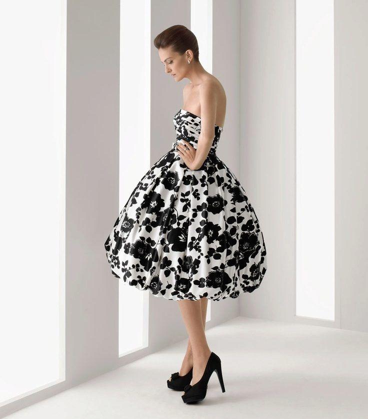 Платье в стиле 50-х пышное