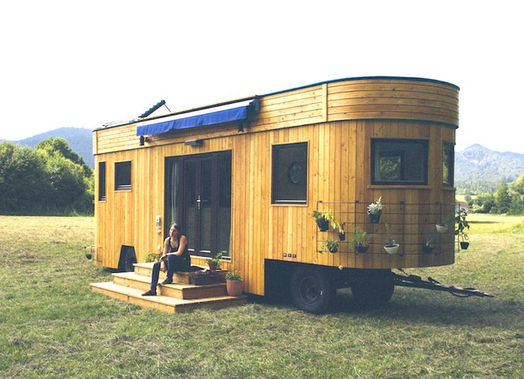 live off the grid and rent free in the charming wohnwagon mobile caravan eco architecture. Black Bedroom Furniture Sets. Home Design Ideas