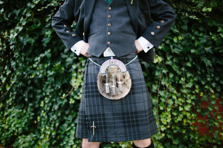 The boys looked fab in their contemporary Grey Spirit kilts.