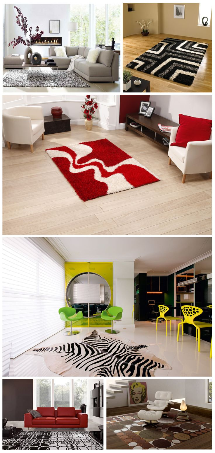 Appearances of the cheerful room decor with stylish and elegant #Carpets can glee your day. #HomeDecor #HomeInterior