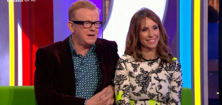 Alex Jones on the One Show in an ASOS Floral Dress