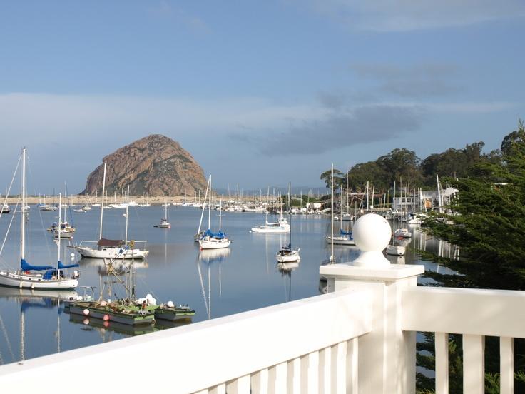 The Inn at Morro Bay, California ~ very nice & beautiful view