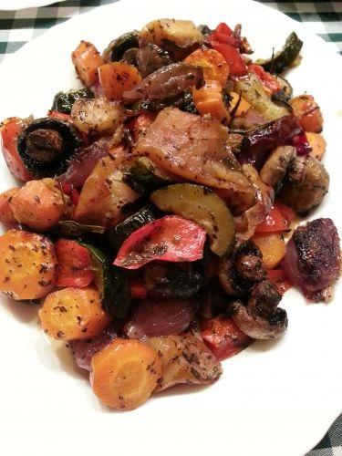 Borban sült zöldségek - Vegetáriánus ételek - FÖLDI RITA KAPCSOLATTEREMTŐ SPIRITUÁLIS GASZTROBLOGJA