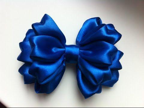 Baby bow  Moño para bebe Laço de Cetim - YouTube