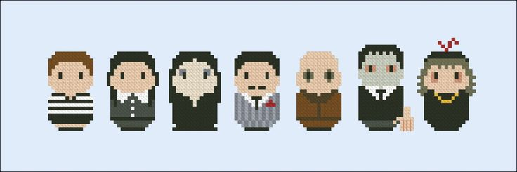 The Addams Family - Products