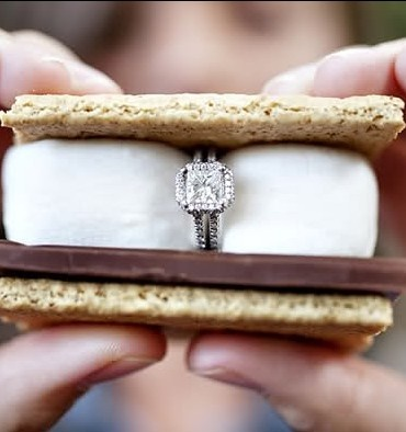 s'mores ring shot? since we're having a s'mores bar... yes.