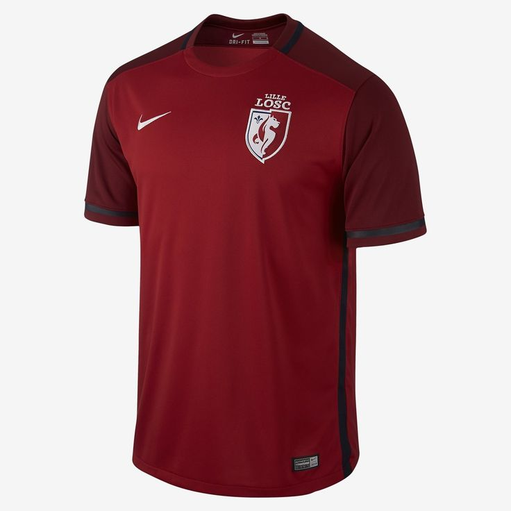 Lille Osc 15 16 Nike Home Football Shirt 15 16 Kits Football Shirt Blog Football Shirts Lille Osc Lille
