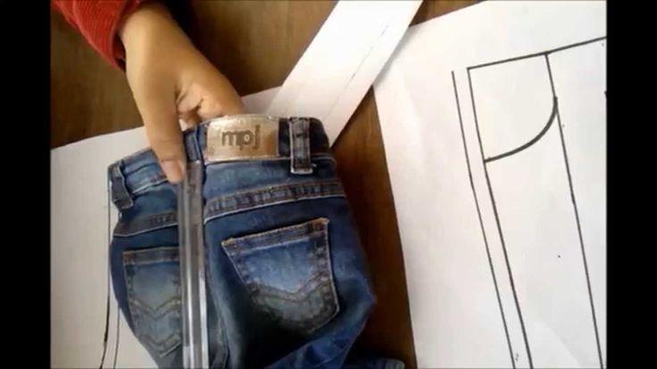 Vídeo aula 8 - Parte 2/3 - Como tirar molde de roupa pronta