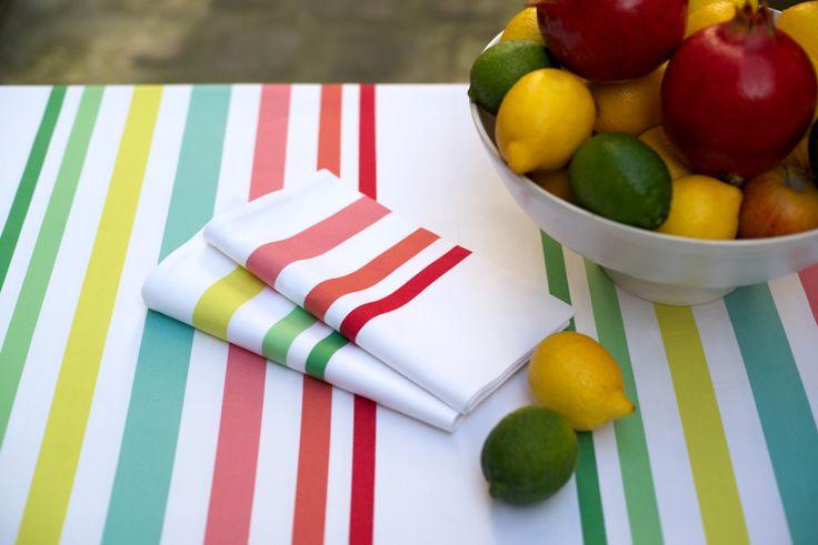 Nappe coton Jean-Vier Saial Berria - Cotton tablecloth Jean-Vier Saial Berria >> http://www.jean-vier.com/