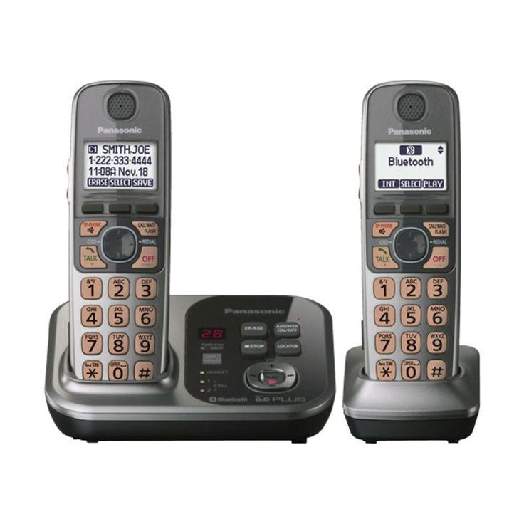 TELEFONO INALAMBRICO Panasonic 2 EXTENSIONES Bluethooth