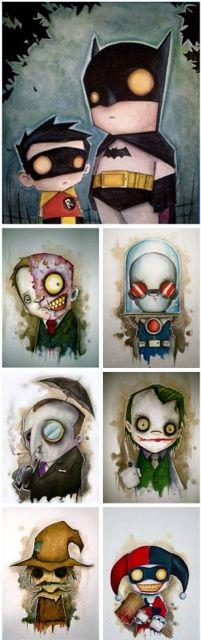 Personnages Batman