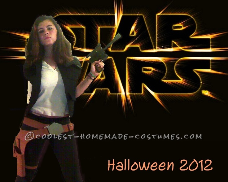 Cheap Homemade Han Solo Costume – Girl Version... This website is the Pinterest of costumes