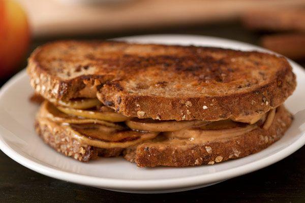 Grilled Apple Peanut Butter Sandwiches from @Lauren Davison@ Texanerin ...