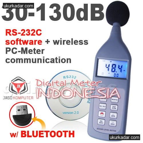 Sound Level Meter SL-5868P from Jago Komputer / Digital Meter Indonesia