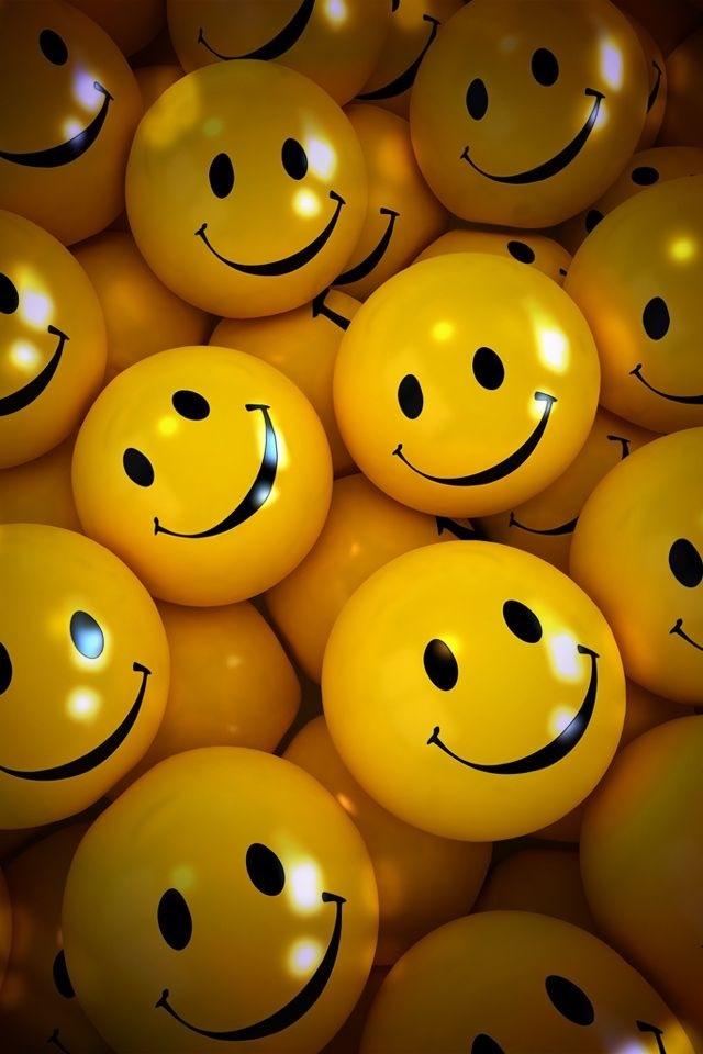 Sooooo ... viele gelbe Bälle mit Smiley-Gesicht drauf, ist das toll. ☺☺☺☺☺