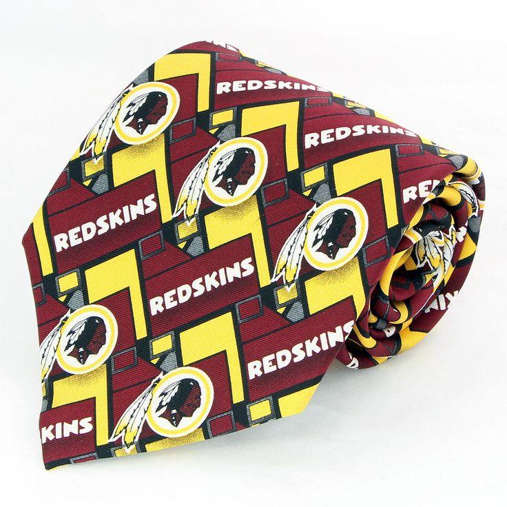 Washington Redskins Logo NFL Football Mens Necktie Sports Gift Silk Tie New   #NFL #NeckTie