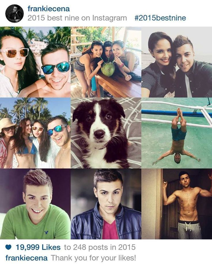 So what made the cut for my top Instagram Photos of 2015 ?!  Of course two Beauty Queens @meganbata and @yuwenxia, a trip to paradise, a very cute puppy  , a shirtless photo   , and two amazing headshots from @gordonclarkphotography and @ianreddheadshots  Are you following me on Insta ?! www.instagram.com/frankiecena  Cannot wait for 2016 to begin! God Bless Everyone!