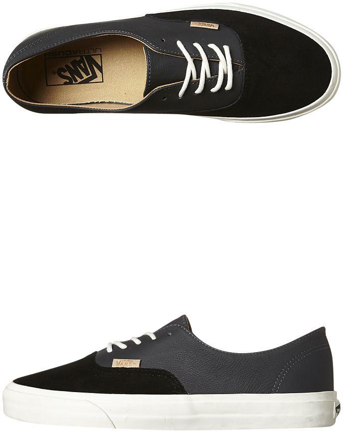 Vans Authentic Decon Deluxe Shoe Black Cotton