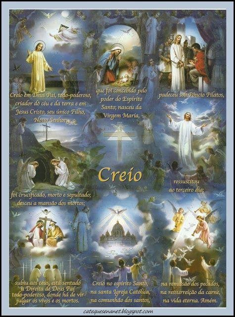 Menina Maria de Nazareth: ORAÇÃO DO PAI NOSSO, AVE MARIA, CREDO ILUSTRADOS                                                                                                                                                                                 Mais