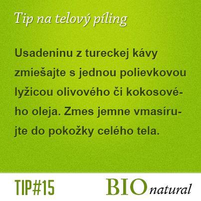 Tip na telový píling