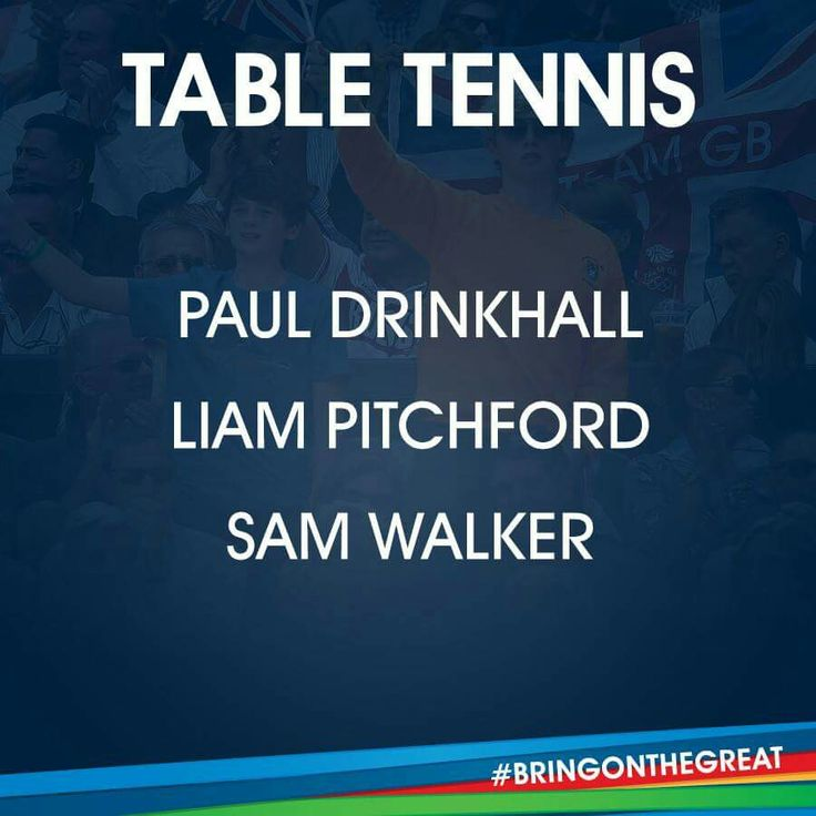 Table Tennis- Team GB Rio 2016