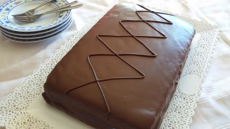 Gâteau kinder délice fait maison